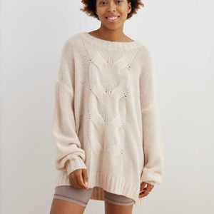 Oversized Aerie Knit sweater